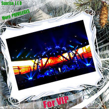 fast and safe assembly full color P6 led rental video wall for stage decoration
