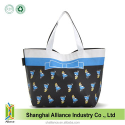 Photo Sublimation Print Foldable Polyester Tote Bag