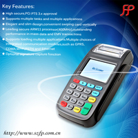 Linux GPRS POS Terminal New8210 with MSR/ICC/CLR Card Reader and Printer