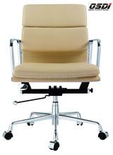 Small comfortable aluminium web office chair(A6835#)