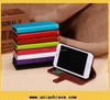 For iphone 6 plus leather case, PU leather flip case for Apple iphone 6 plus with wallet