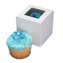 white_cupcake_boxes_with_window cb-142 wholesale price