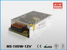 China manufacturer of high quality MS power supply 100w 5v MS-100-12 constant voltage smps