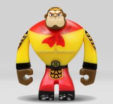 customized pvc vinyl figure,custom plastic figure vinyl toy,cartoon monkey vinyl figure toys