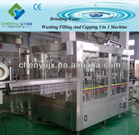 Hot sale high quality 3 in 1 automatic bottled water manufacturing equipment