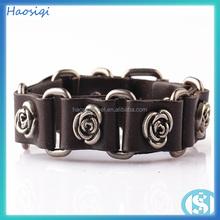 Factory Mens Leather Bracelet Wholesale