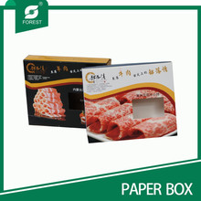 ECO-FRIENDLY MEAT/MUTTON/BEEF PACKAGING BOX WITH WINDOW