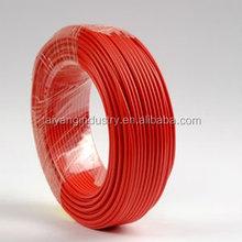 Housing H07V-R/H07V-U/H07V/K pvc insulation copper core electric pvc wire