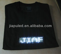 2015 led light t-shirt Fashionable party dancing led t-shirts made in China