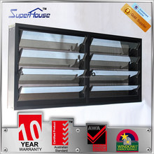 Australia AS2047 standard decorative exterior adjustable louver aluminium shutters
