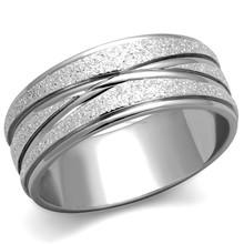 Nice Masterpiece Jewelry Matte Finish 18K Plate Wedding Band Ring