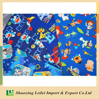 Custom Digital Printing Cotton Lycra Fabric 95/5 For Diaper And Kid's Clothing