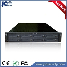 Dual stream 48ch digital video recorder, h.264 network video recorder