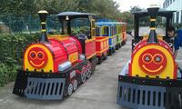 amusement park mini electric trackless train for sale