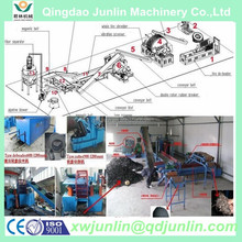 waste tyre recycling machine of best quality