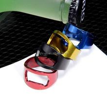 key ring bottle opener /creative design finger ring bottle opener for beer/