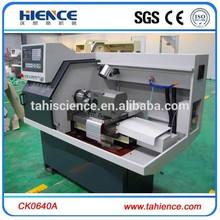 de alta calidad nueva condición horizontal pequeña de metal gany tipo tornos cnc ck0640a precio