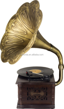 classical professional loudspeaker phonograph style support bluetooth vinyl record player