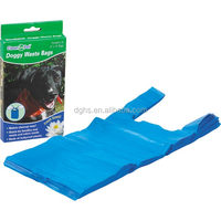 manufacture green biodegradable dog bags with handles