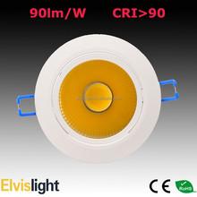 Lifud driver 20W COB LED Downlight 2000lm fire rated downlight