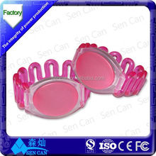 2015 Hot sale factory directly QR code / ID number silicone bracelet / wristband for access control