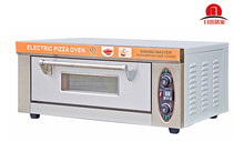 Sinochef 1 Deck 1 Tray Electric Stone Fire Pizza Oven with timer