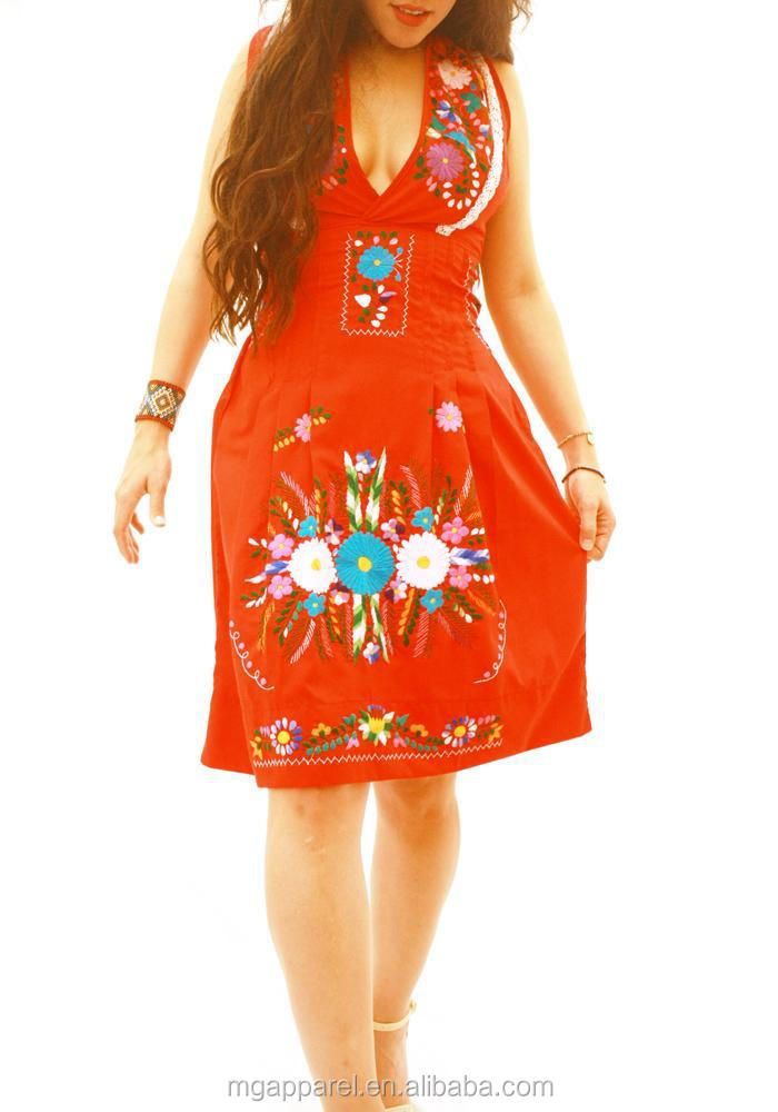 vintage mexican embroidered dress (3).jpg