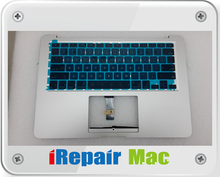661-7480 keyboard with top case housing for macbook air a1466 2013