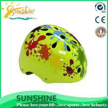 Children scooter helmet fashion, ABS shell with pattern, high-grade helmet