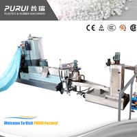 Pulls Strand Film Granulator and waste plastic recycling machine High Capacity 50 - 1000kg/h