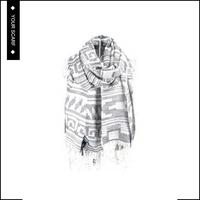 Good reputation high quality plain long yarn dyed acrylic shawl
