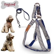 Nature Canvas Stripe Design Pet Harness harness for dog