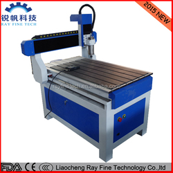 6090 woodworking cnc router store for sale with nc studio round rails