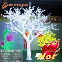 white led cherry blossom tree lights / Christmas flowering cherry tree