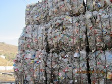 PET SCRAP BOTTLES IN BALES (NATURAL COLOR)