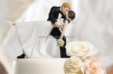 Wholesale High Quality Wedding Resin Cake Topper Anniversary Cake Decoration