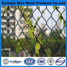 Top quality new products removable pvc chain link fence