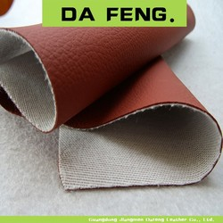 lichi texture pu leather for sofa/lichi pattern pu leather for car seat cover/lichi texture pu leather for upholstery