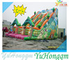 PVC Tarpaulin Full Painted Jungle Animals Inflatable Slide for Sale / Inflatable Slide for Outdoor Events Party/Inflatable Game