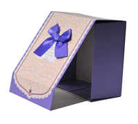 2015 Best Selling guess white cardboard box With Bow plain white box/white box packaging/white paper box