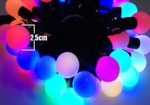 AC110/220V 50L Led Model String Big Ball Light/Colorful Big Ball Led String Light/5M RGB Led Decoration Christmas Light