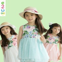 Wholesale Factory Price Cheap Summer Cotton Baby Girl Dresses