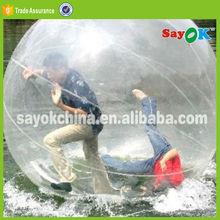 inflatable water walking polymer jumbo running ball