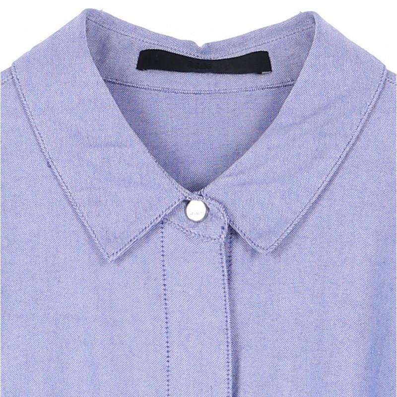 Belted Twill Shirt Dress.jpg