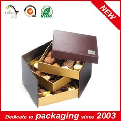 4 layer Sliding Cookies Box Packaging design