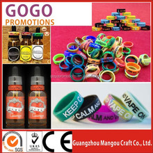 Hot selling high quality company promotional silicone vape bands for corporate gifts,Eco-friendly Event Unique Silicon vape band