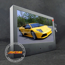 10inch metal case auto copy digital photo frame support 1080P video for supermarket advertising