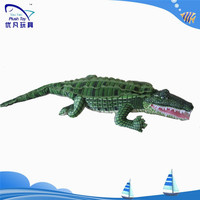 yiwu shanghai factory wholesale ce rohs pass cotton simulate Alligator plush toy stuffed crocodile toyS
