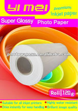 leadingn manufacturer supply glossy inkjet roll photo paper