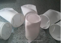 customized 100% polyester raw material needle punched nonwoven fabric for filter bag liquid filtration fabric in industry